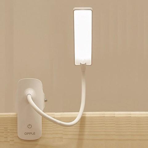 OPPLE 欧普照明 欧普台灯护眼灯书桌学生充电摆摊宿舍寝室夹子式卧室用led床头灯