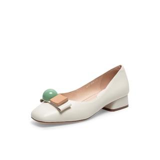 Teenmix 天美意 TEWAX791DD1CQ0 女士单鞋