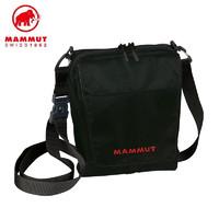 Mengmaxiang 猛犸象 Mammut 猛犸象 21年升级款男女运动跑步腰包通勤徒步单肩包尼龙耐磨斜挎包黑色4升