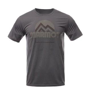 Marmot 土拨鼠 H442012200 男款短袖T恤 古典蓝 S
