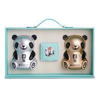 有券的上:舍得  熊猫礼盒金猫银猫   2瓶