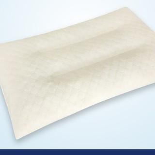 LANTINCE 泰国乳胶枕头进口天然橡胶硅胶枕芯单人护颈椎助睡眠原装一只高低