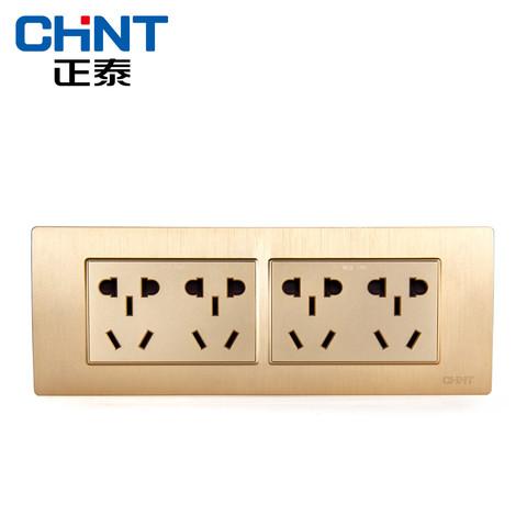 CHNT 正泰 NEW5D 四位四插五孔