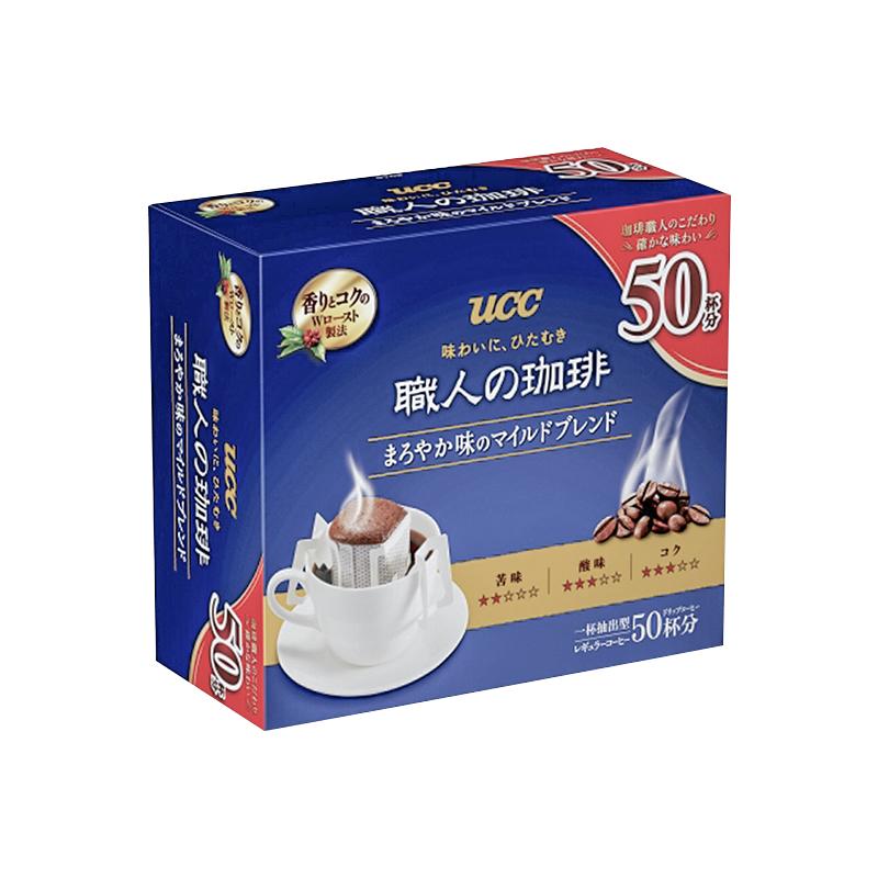 UCC 悠诗诗 滴滤式职人咖啡粉 50袋