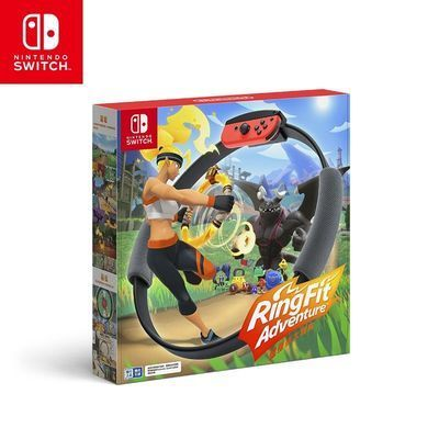 Nintendo 任天堂 国行 Switch体感游戏套装《健身环大冒险》