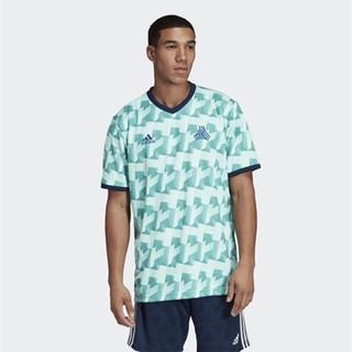 adidas 阿迪达斯 阿迪达斯(adidas)2019夏季TAN AOP JSY 男士创造者足球短袖球衣运动T恤DT9198