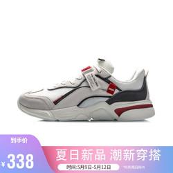 LI-NING 李宁 #运动时尚国货新品#李宁男鞋运动时尚鞋2021烛龙男子经典休闲鞋AGCR377