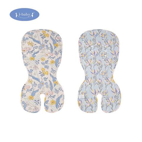 i-baby 婴儿凝胶清凉车垫 儿童宝宝推车凉垫冰丝透气婴儿车凉席沁心花园
