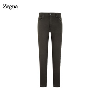 Ermenegildo Zegna 杰尼亚 杰尼亚(Zegna) 2021春夏款  男士牛仔裤深军绿色 UWI50-JS01-037-30