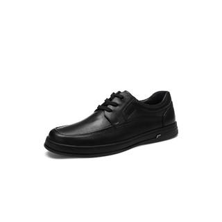 Bata 拔佳男商务鞋男士皮鞋真皮正装鞋通勤鞋商务休闲鞋男鞋