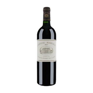 CHATEAU MARGAUX 玛歌古堡正牌干红葡萄酒2017年 750mL单瓶装 1855列级庄一级庄 法国原瓶进口红酒