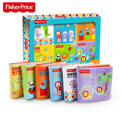 Fisher-Price 费雪  F0812 启蒙与认知布书礼盒装 6件套