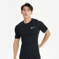 NIKE 耐克 Nike耐克男子AS M NP TOP SS TIGHTT恤BV5632-010