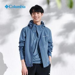 Columbia 哥伦比亚 Columbia哥伦比亚外套男户外运动防风单层夹克WE1299