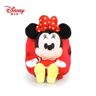 Disney 迪士尼 毛绒玩具米奇米妮背包 32cm