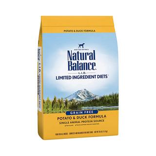 临期品 : Natural Balance 天衡宝 鸭薯配方 成犬粮 26磅