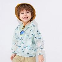balabala 巴拉巴拉 巴拉巴拉新男童防晒衣夏季儿童宝宝外出空调服21052201225