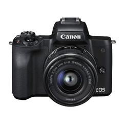 Canon 佳能 EOS M50 无反相机 套机(EF-M 15-45mm f/3.5-6.3 IS STM)