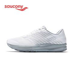 saucony 索康尼 Saucony索康尼 2020年新品 慢跑训练鞋 RIDE 驭途13 男子缓震跑鞋 S20579 白色 42.5(US9)