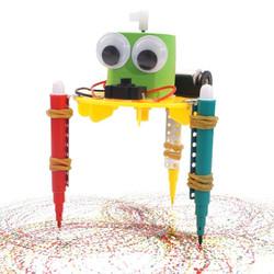 JIMITU 吉米兔 科技小制作 DIY涂鸦机器人