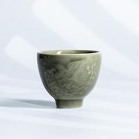 xigu 熹谷 龙泉青瓷 品茗杯茶杯 老梅青