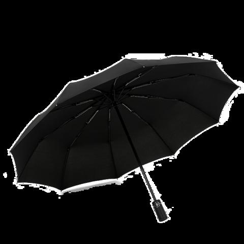 kavar 米良品 米良品 全自动超大10骨抗风加固双层伞