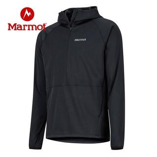 PLUS会员 : Marmot 土拨鼠  H81330 曜石黑001 男款户外M1软壳衣