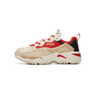 FILA 斐乐 斐乐女鞋运动休闲鞋女款老爹鞋系带百搭舒适时尚潮流复古跑鞋