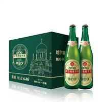 PLUS会员:雪熊  精酿啤酒  纯麦啤酒 640ml*12瓶