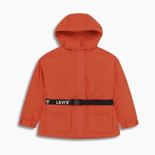 Levi's 李维斯 22966-0000 女士连帽收腰羽绒服
