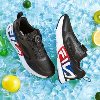 FILA 斐乐 男童女童中大童(33-40)童鞋新款休闲运动鞋儿童复古跑鞋