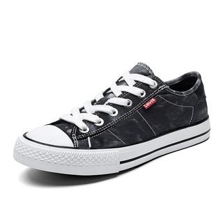 Levi's 李维斯 Levis李维斯女鞋帆布鞋低帮帮潮流百搭休闲鞋春季新品板鞋