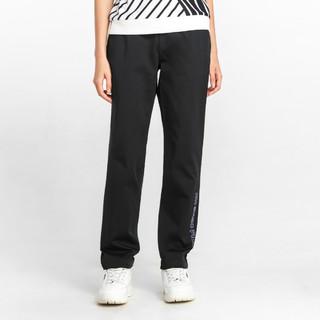 FILA 斐乐 斐乐女裤FUSION系列女式休闲裤休闲梭织运动裤运动裤子女
