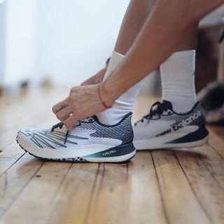 new balance New Balance NB官方2021新款男款RCEL系列简约经典舒适百搭时尚舒适缓震跑步鞋 白色/黑色