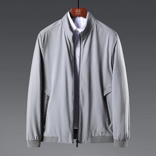 ROMON 罗蒙 罗蒙新品首发纯色休闲商务百搭夹克基础款男士外套