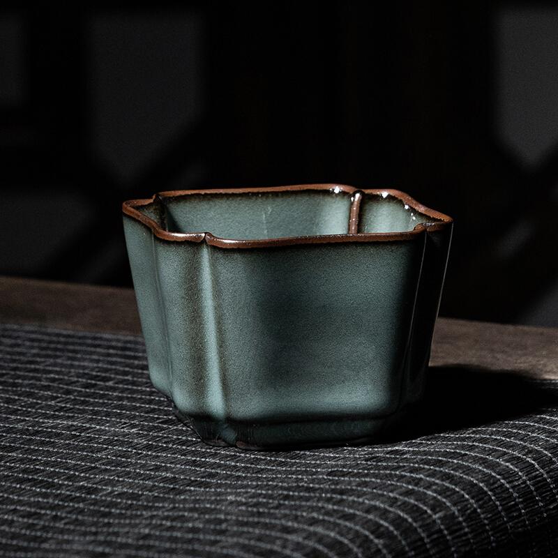 xigu 熹谷 龙泉青瓷茶具 四方杯