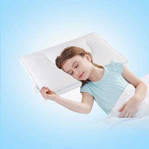 Aisleep 睡眠博士 泰国进口天然乳胶防螨抑菌婴儿学生青少年乳胶枕儿童枕头枕芯