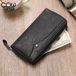 COW 法国手包 男士钱包