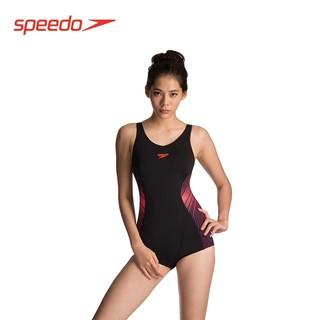 SPEEDO 速比涛 speedo 速比涛 FIT 泳感健身系列 女子连体平角泳衣 蓝色/蓝绿色 40