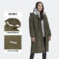 Levi's 李维斯  75671-0001 女士中长款棉服