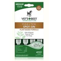 VET'S BEST 犬用体外滴剂驱虫药 3.1ml*4支