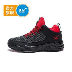 361度童鞋 男童篮球鞋 中大童 年冬季新品K71841103