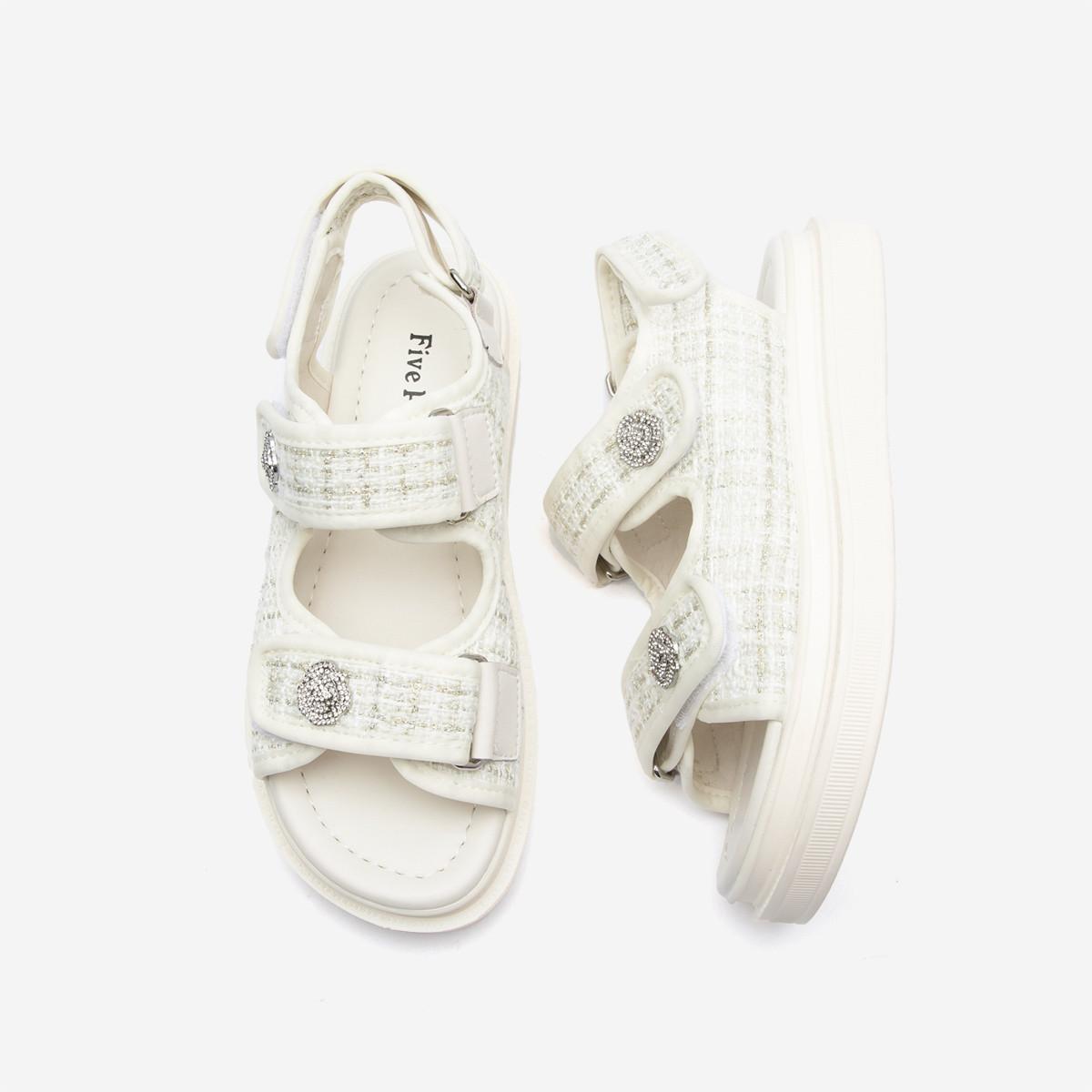 Five Plus 5+ 2NV2517290018 女士小香风凉鞋