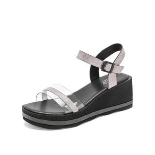 BASTO/百思图 RGLDB335DK1BL9  女士凉鞋