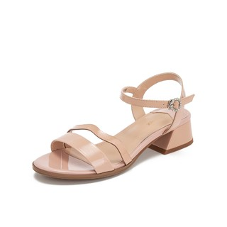 Teenmix 天美意 TBL6Z216DK1BL9 女士凉鞋