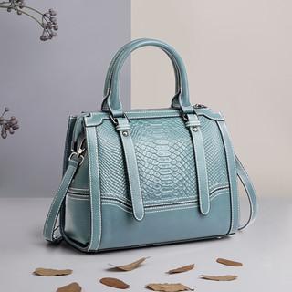 WAXY 新款大容量真皮包包女士大包手提包女式斜挎包女包