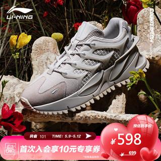 LI-NING 李宁 #运动时尚国货新品# 国民品牌 李宁CF脊男子潮流休闲鞋AGLR049-3
