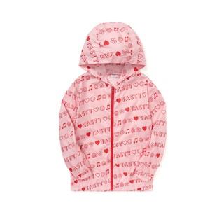 balabala 巴拉巴拉 女童外套童装儿童时尚印花韩版潮2021新款夏装中大童