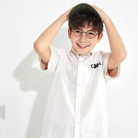 balabala 巴拉巴拉 男童短袖衬衣