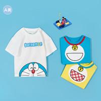 balabala 巴拉巴拉 宝宝哆啦A梦印花T恤